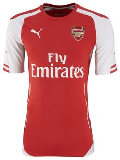2014/2015 Arsenal Home Kit. Well, I'm a Liverpool fans so I don't support them at all but they're okay. They don't like Chelsea as much as Liverpool doesn't like Chelsea so we are kinda cool there. Plus they have Alexis, Ozil, and OLIVER GIROUD (aka the most attractive soccer player like ever). You guys rock. Keep doing you.