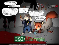 CSI: Zootopia