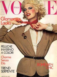Linda Evangelista - Photography by Steven Meisel for Vogue Italy, November. 1994
