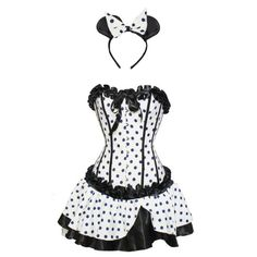 this is what minnie wears for mickey when  no one is around :)