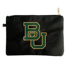 Baylor Bears Logo Canvas Pouch Bag *** Learn more by visiting the image link. #ClutchHandbags