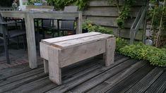 Michel's blog - Zelf tuinmeubelen maken van steigerhout #DIY