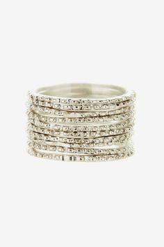 Marcia Moran Ribbed Ring Stack