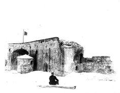 Fort McRae Ruins Pensacola Bay, around 1900