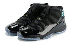 online store 521ea 87466 Air Jordan 11 Retro 2013 New Color Black Jade Mens Shoes