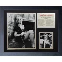 Found it at Wayfair - Marilyn Monroe Portrait Framed Photo Collage