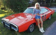 The iconic General Lee. Mopar, Hot Rods, Sexy Autos, Up Auto, Automobile, Pt Cruiser, Us Cars, Car Girls, Girl Car