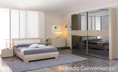 Camera da letto Vanity - Armadio 2 antoni - Moderno - Mondo Convenienza - La nostra forza è il prezzo