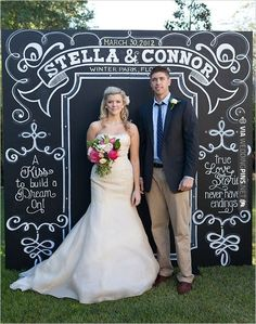 Andi Mans Photography + Chalkboard Background | VIA #WEDDINGPINS.NET