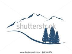 Mountain silhouette vector art Free vector for free download about ...