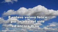 DOMENICO MODUGNO - VOLARE, via YouTube.