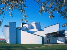 Vitra Design Musuem, built in 1989 by Frank O. Gehry - his first building outside of America!
