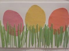 Easter craft: kids can do this themselves.