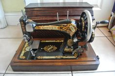 Singer 28K Vintage Hand Crank sewing machine by TimeHonouredSingers on Etsy