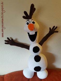 Wundervolle Amigurumi Welt: Schneemann Olaf (Frozen) purchased pattern by Tanja Krebs
