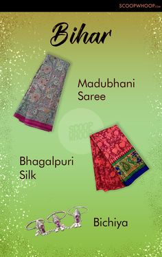 India Is Full Of Fashion Inspiration. Here Are 40 Things You Should Collect From Different States Indian Textiles, Indian Fabric, Indian Culture And Tradition, Fashion Terminology, Traditional Indian Jewellery, India Map, India Facts, Music Festival Outfits, India Culture