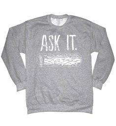 Ask It Log Lady Shirt Twin Peaks Shirt Log Lady Crewneck Sweatshirt T Shirt Log Lady Shirt Twin Peaks Sweatshirt Log Lady Sweatshirt Hoodie by SterlingPrintShop on Etsy