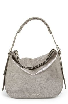 0f34e4cf64bf Jimmy Choo  Small Boho  Metallic Leather Hobo available at  Nordstrom