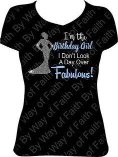 I'm The Birthday Girl Bling/Glitter Design  District