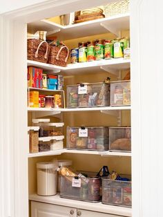 My pantry could easily be laid out this way!
