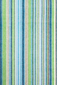 """Dash and Albert Rugs- """"Fisher Ticking"""" - 100% Woven Cotton- Available @ Maryland Paint & Decorating"""