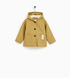 TRENCH COAT WITH HOOD-NEW IN-BABY GIRL | 3 months - 4 years-KIDS | ZARA United States