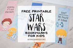Make reading fun with these Free Printable Star Wars Bookmarks featuring Darth Vader and Princess Leia. Perfect for the classroom, gifts, and party favors!