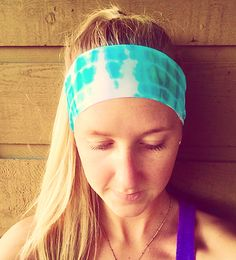 Thin Fitness Headband-Tie-Dye