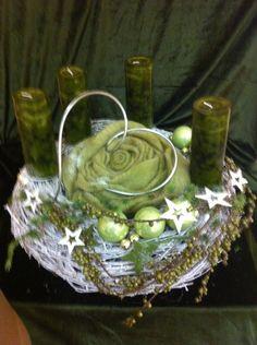 Adventskranz von Florale Manufaktur auf DaWanda.com