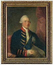 Studio Benjamin West, P.R.A. | Portrait of King George III, half ...