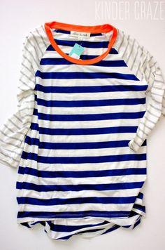 Cute! Olive & Oak Mulliken Raglan Striped Knit Shirt from Stitch Fix
