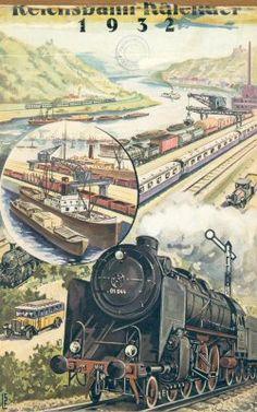 Reichsbahn-Kalender 1932