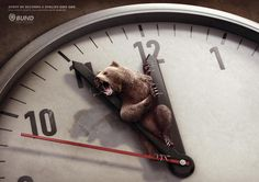 """""""Every 60 seconds a species dies out"""" by Scholz & Friends for Bund."""