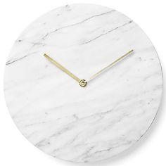Marble Wall Clock by Menu at Lumens.com
