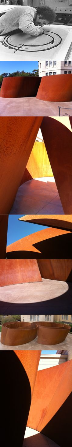 "RICHARD SERRA'S ""SEQUENCE"" AT CANTOR ARTS CENTER, STANFORD"