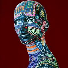 Dreams in colour. Through embroidery Tunga Studio are working to help women in remote Zululand lead a better life. Thread Art, Embroidery Thread, Looks Cool, Worlds Of Fun, All Art, Artsy Fartsy, Renaissance, Mystic, African