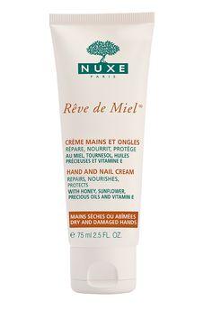 Crème Mains et Ongles Rêve de Miel® : nourrit, répare et protège. #nuxe #revedemiel  Honey hand and nail cream