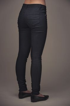 Jamie Jeans - Named - in a dark twill for work