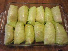Stuffed Cabbage Rolls - Weight Watcher's Version