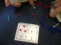 A First Grade Fairy Tale: Firsties can balance on both sides of the equal sign