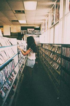 Music + books = happiness place (: