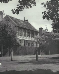 Dulwich Village Camberwell Print Black and white by ImpalaPrints