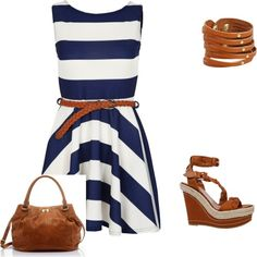 Casual, created by honeybee20 on Polyvore: I WANT this dress