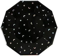 Amazon.com: Meri Meri 45-2391 Star and Moon Large Plate Novelty: Toys & Games
