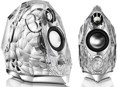 Harman Kardon GLA 55 Speakers... who've thought? Speakers that look like ice sculptures...