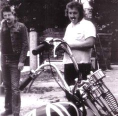 Like Father, Like Son . . . John Bonham with his father. Priceless!