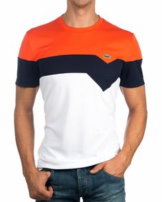 Lacoste Grand Croco T-Shirts – Weiß – Pato DazaB – Welt der Deutschen Mens Summer Dress Clothes, Flowy Summer Dresses, Summer Dress Outfits, Backless Dresses, Casual Dresses, Polo Shirt Outfits, Polo T Shirts, Dress Shirts, Polo Shirt Design