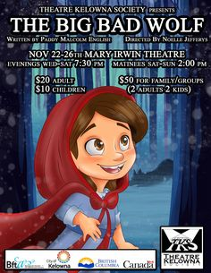 Resultado de imagem para bad theatre posters Big Bad Wolf, Children, Kids, Theatre, Disney Characters, Fictional Characters, Poster, Young Children, Young Children