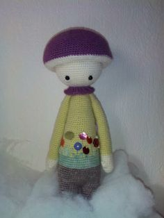PAUL the toadstool made by So B. / crochet pattern by lalylala