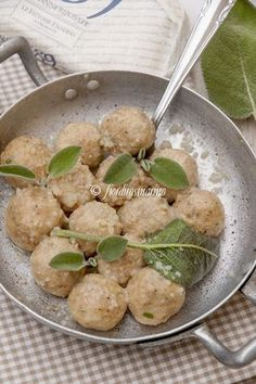 Gnocchi di pane - Cucina Italiana Blog by Fiordirosmarino